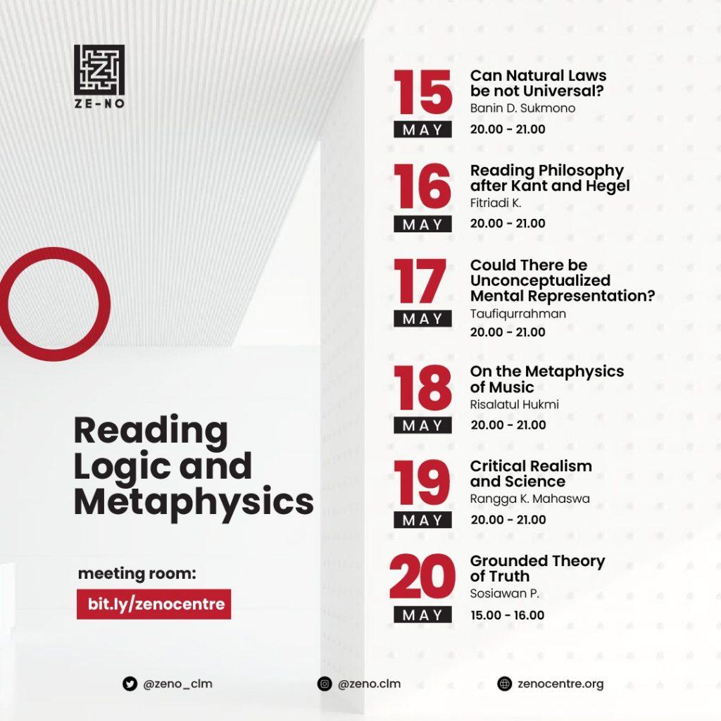 Reading Logic and Metaphysics